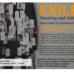 Wolfson College: Exile – Painting and Video by Jonathan Moss and Sonia Boué